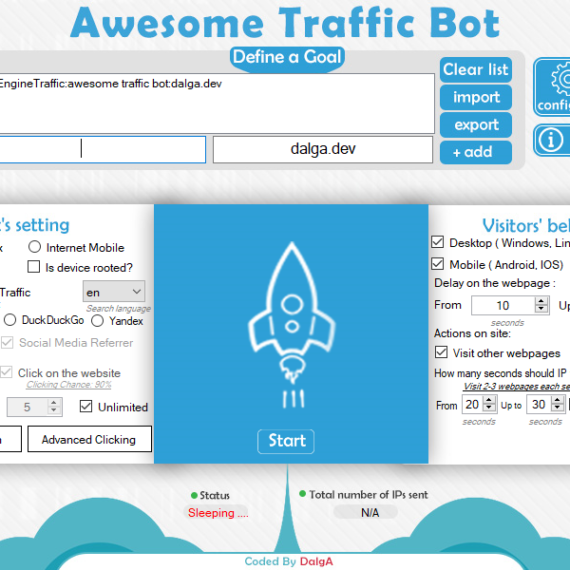 Awesome Traffic Bot